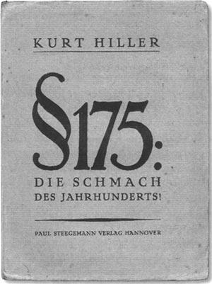 Kurt Hiller §175